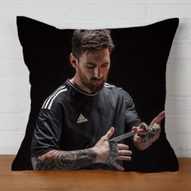 Almohada Doble Cara Messi 1