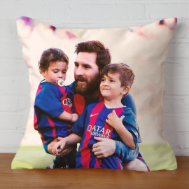 Almohada Doble Cara Messi 4