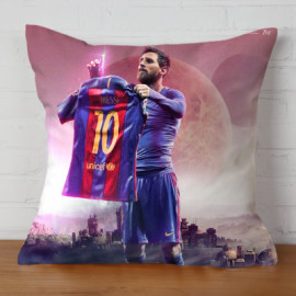 Almohada Doble Cara Messi 5