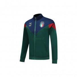 Chaqueta Italia 2020 Verde/Azul