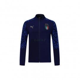 Chaqueta Italia 2020 Azul Oscuro