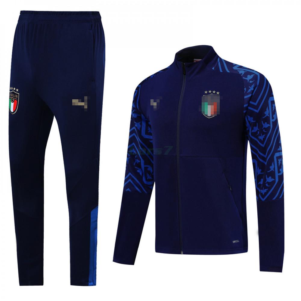 Chándal Italia 2020 Azul Oscuro