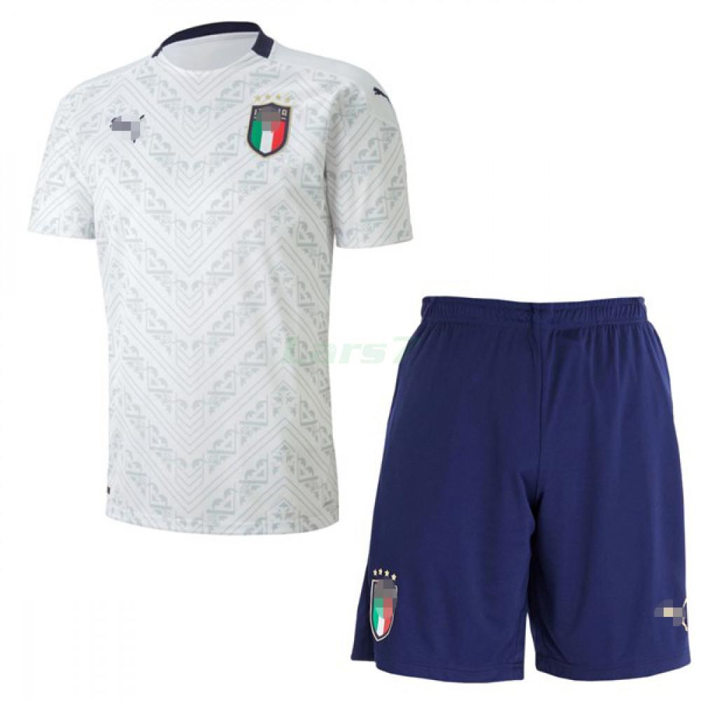 Camiseta Italia 2ª Equipación 2020 Eurocopa Niño kit
