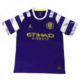Camisetade Entrenamiento Manchester City 2019/2020 Púrpura