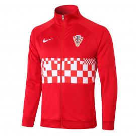Chaqueta Croacia 2020 Rojo Blanco