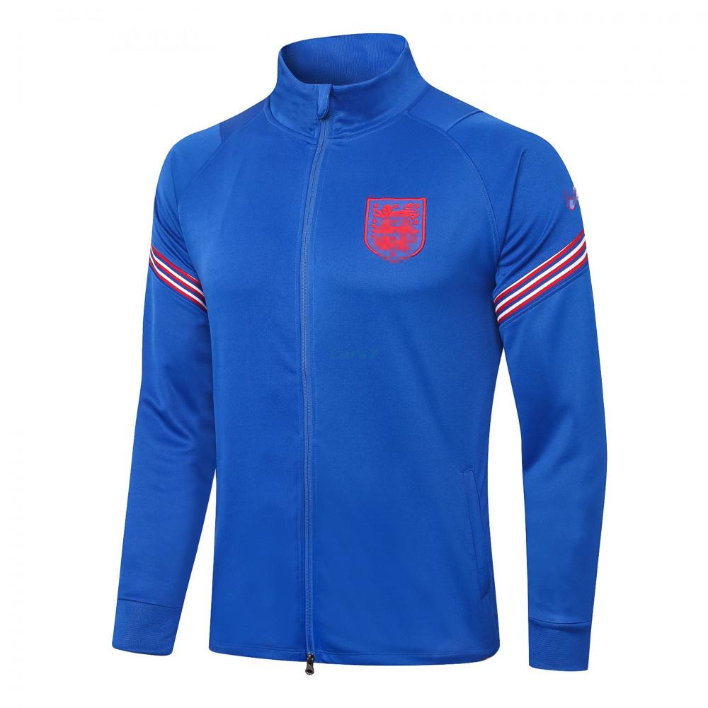 Chaqueta Inglaterra 2020 Cuello Alto Azul
