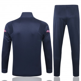 Chándal Inglaterra 2020 Cuello Alto Azul Marino