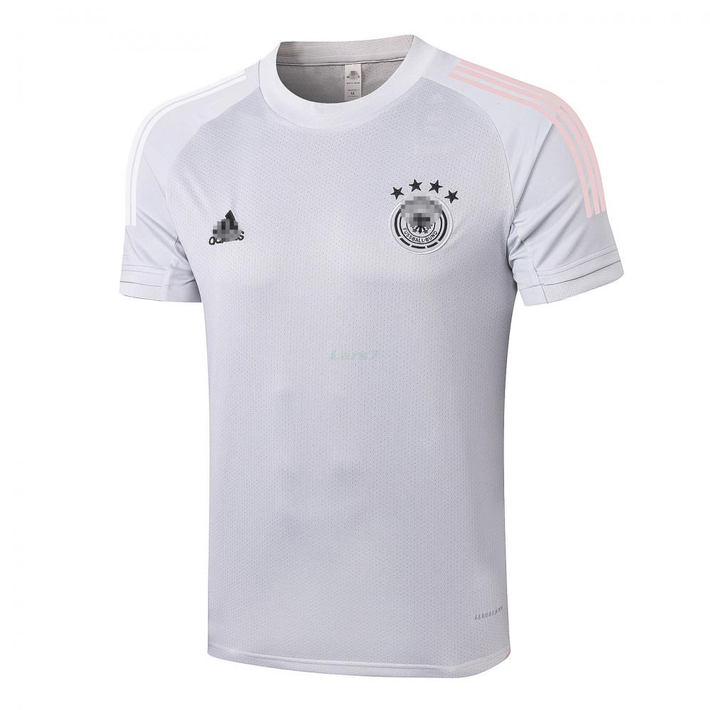 Camiseta de Entrenamiento Alemania 2020 Gris Claro