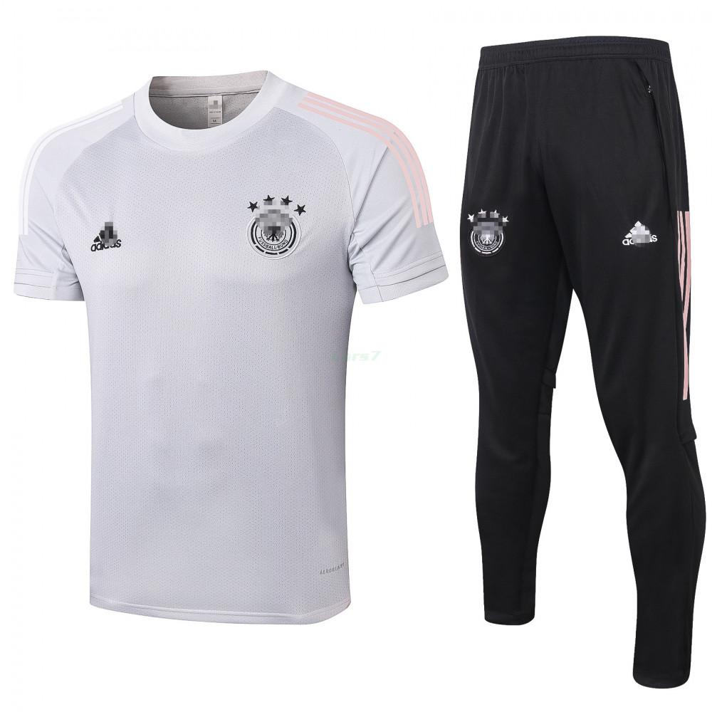 Camiseta de Entrenamiento Alemania 2020 Kit Gris Claro
