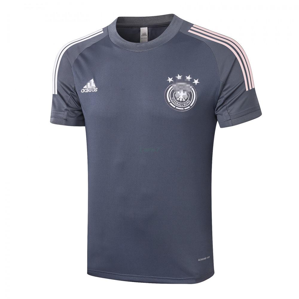 Camiseta de Entrenamiento Alemania 2020 Gris Oscuro