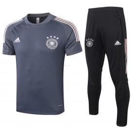 Camiseta de Entrenamiento Alemania 2020 Kit Gris Oscuro