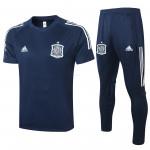 Camiseta de Entrenamiento España 2020 Kit Azul Marino
