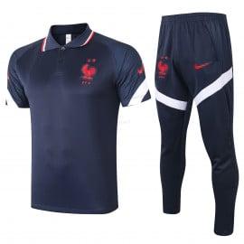 Polo Francia 2020 Kit Azul Marino