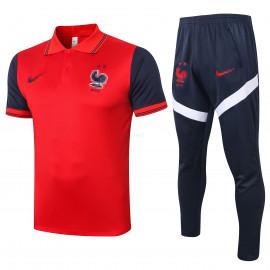 Polo Francia 2020 Kit Rojo