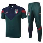 Polo Italia 2020 Kit Verde Oscuro