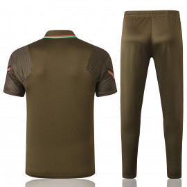 Polo Portugal 2020 Kit Verde Oscuro