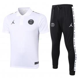 Polo PSG 2020/2021 Kit Jordan Blanco