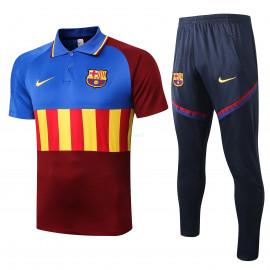 Polo Barselona 2020/2021 Kit Azul/Rojo/Amarillo