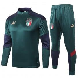 Sudadera kit Italia 2020 Verde
