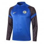 Sudadera de Entrenamiento Inter de Milan 2020 Azul