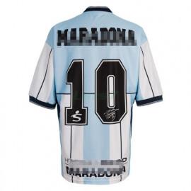 Camiseta Argentina 1ª Equipación Maradona Retro 2001