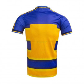 Camiseta Parma Calcio 1ª Equipación Retro 1913 Amarillo/Azul