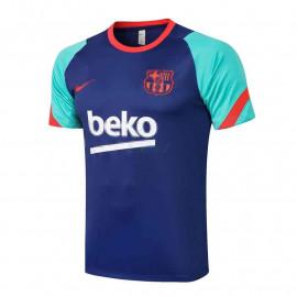 Camiseta de Entrenamiento Barcelona 2021/2022 Azul/Verde