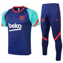 Camiseta de Entrenamiento Barcelona 2021/2022 Kit Azul/Verde