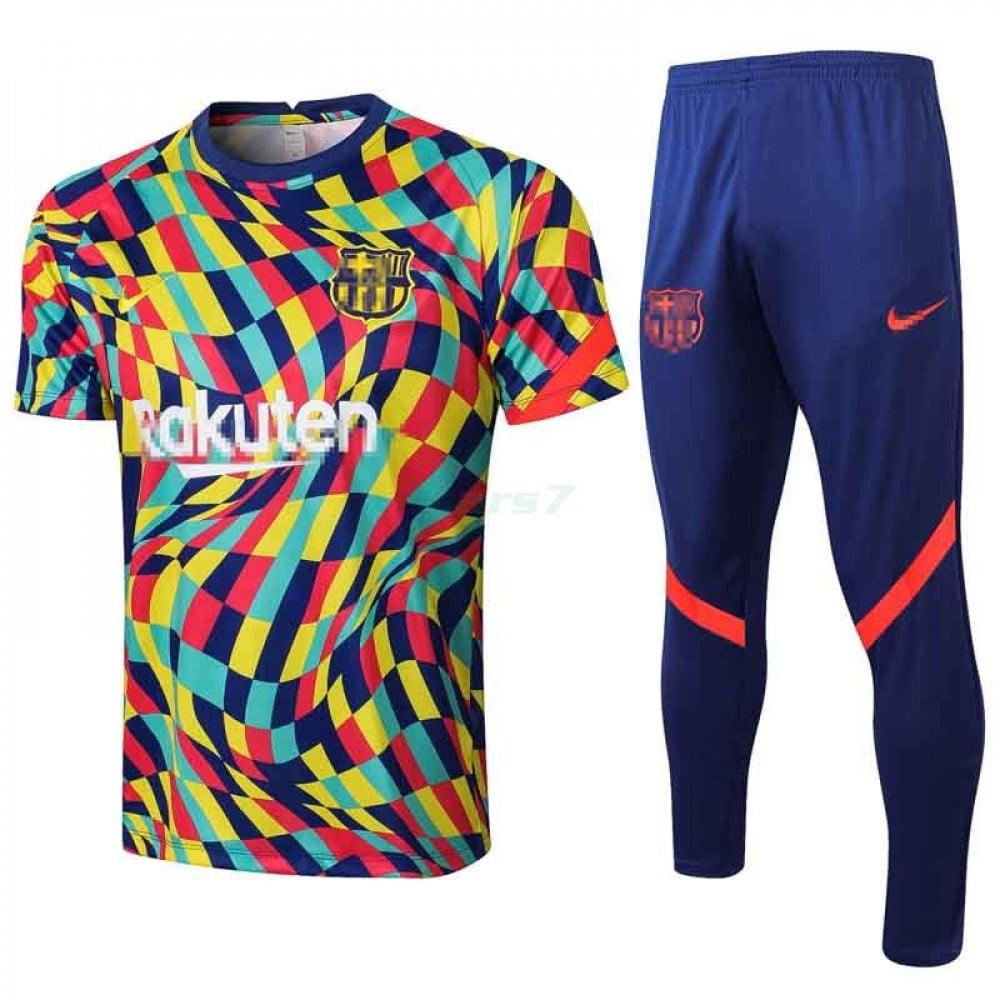 Camiseta de Entrenamiento Barcelona 2021/2022 Kit Policramo