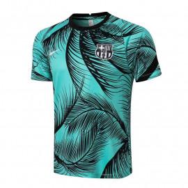 Camiseta de Entrenamiento Barcelona 2021/2022 Estampado Verde