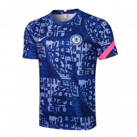 Camiseta de Entrenamiento Chelsea FC 2021/2022 Estampado Azul