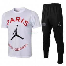Camiseta de Entrenamiento PSG 2021/2022 Jordan Blanco