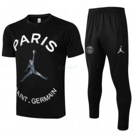 Camiseta de Entrenamiento PSG 2021/2022 Jordan Negro