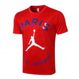 Camiseta de Entrenamiento PSG 2021/2022 Jordan Rojo