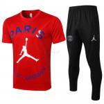 Camiseta de Entrenamiento PSG 2021/2022 Kit Jordan Rojo