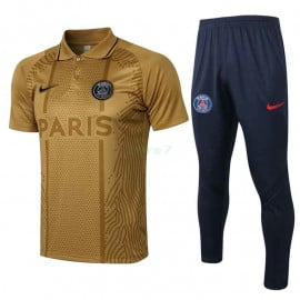 Polo PSG 2021/2022 Kit Dorado