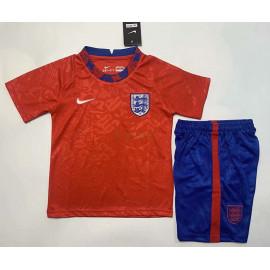 Camiseta de Entrenamiento Inglaterra 2020 Rojo Niño Kit