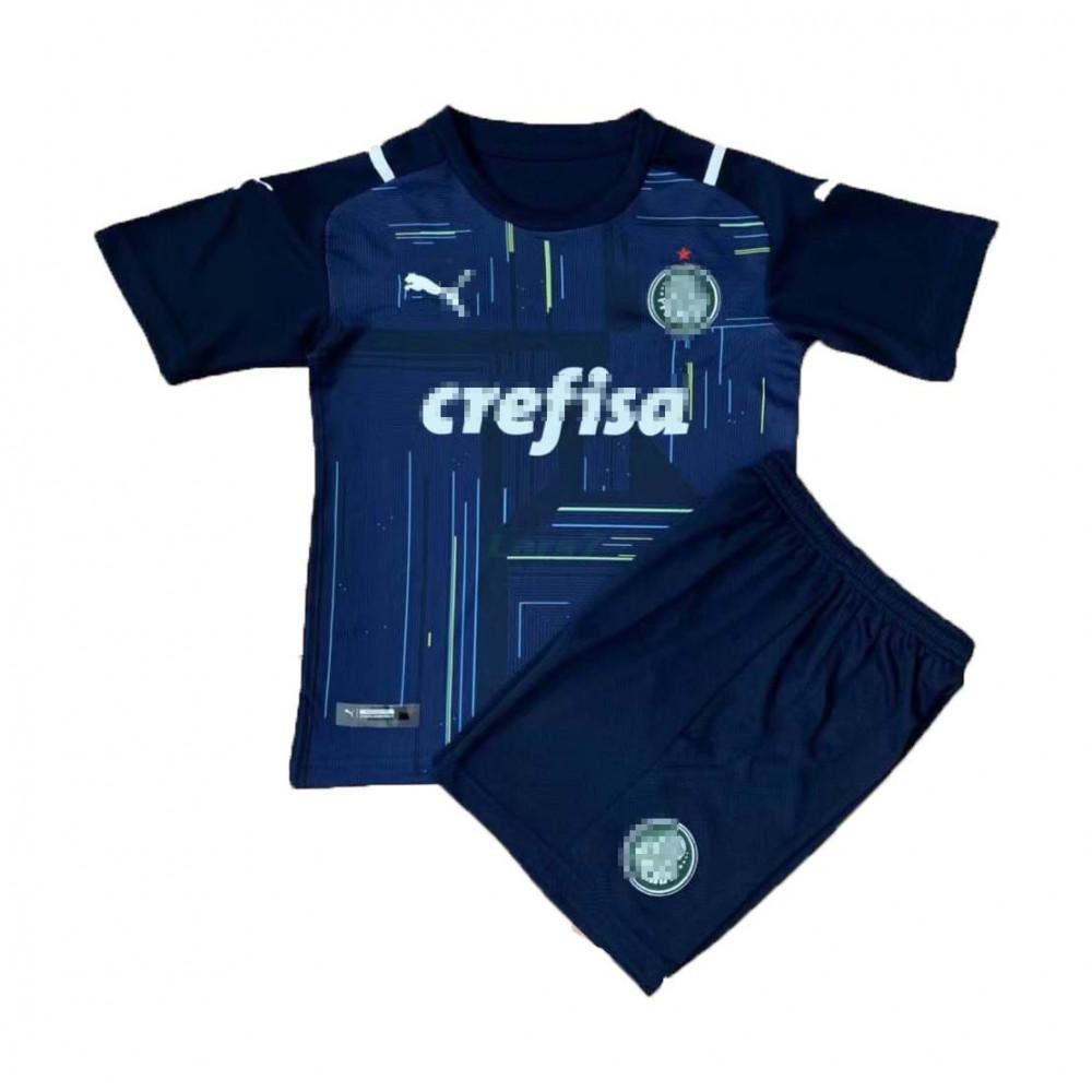 Camiseta de Portero Palmeiras 2021/2022 Azul Niño Kit