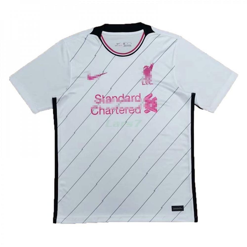 Camiseta de Entrenamiento Liverpool 2021/2022 Blanco