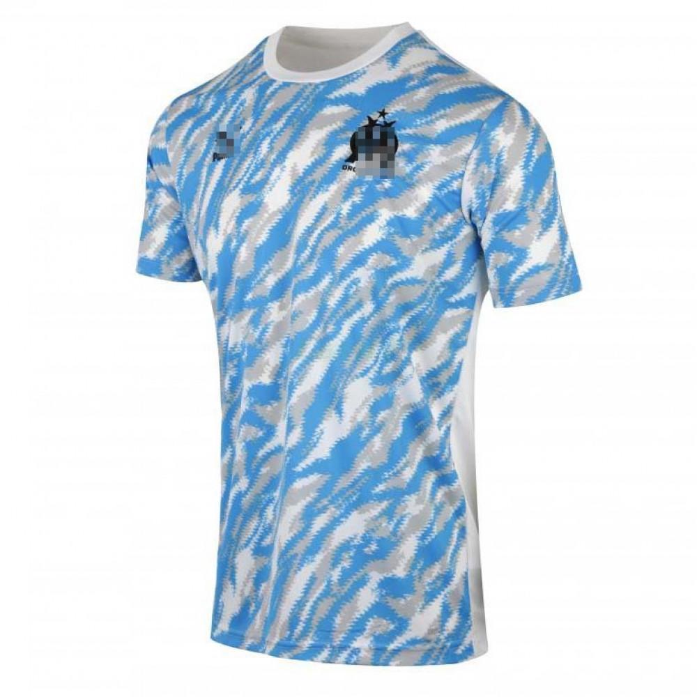 Camiseta de Entrenamiento Olympique Marsella 2021/2022 Blanco/Azul