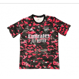 Camiseta de Entrenamiento Arsenal 2021/2022 Negro/Rojo