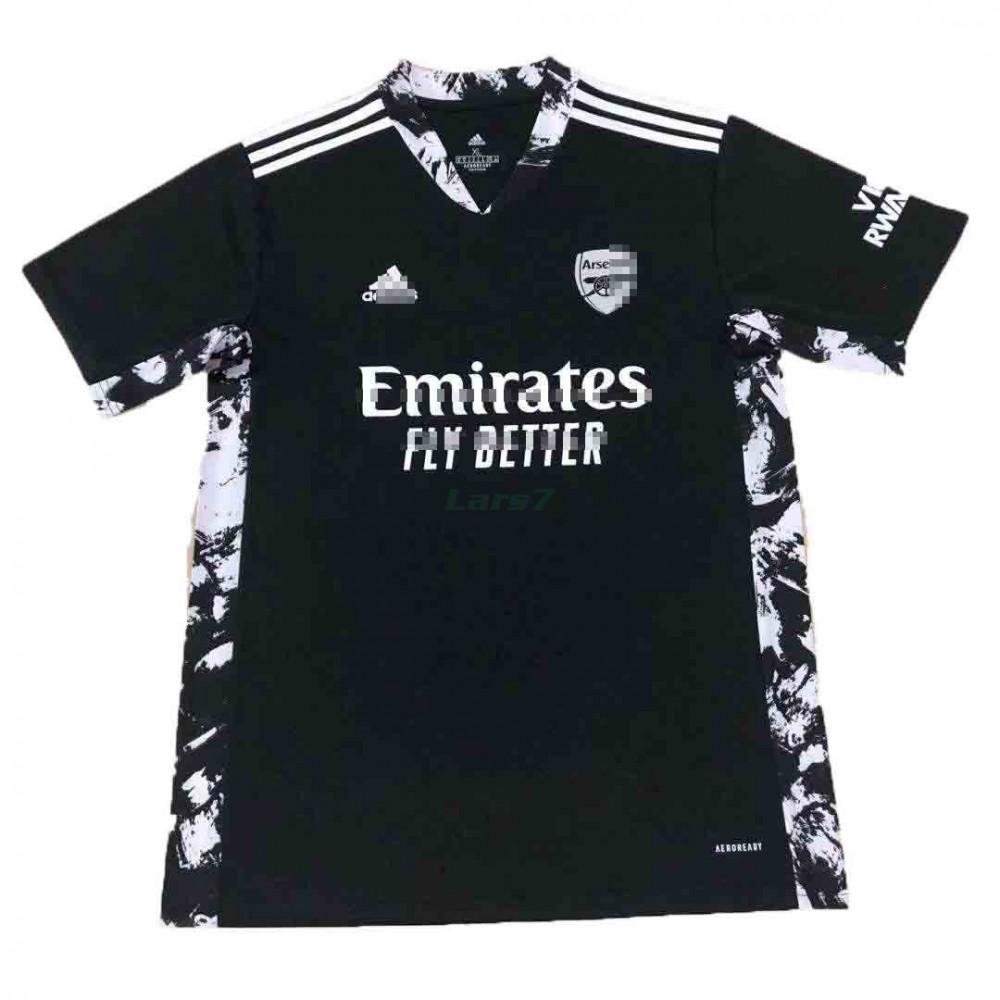 Camiseta de Portero Arsenal 2021/2022 Negro
