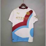 Camiseta Manchester City Edición Conceptual 2021/2022 Blanco