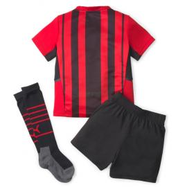 Camiseta AC Milan 1ª Equipación 2021/2022 Niño Kit