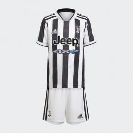 Camiseta Juventus 1ª Equipación 2021/2022 Niño Kit