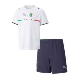 Camiseta Italia 2ª Equipación 2021 Niño Kit