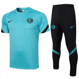 Camiseta de Entrenamiento Inter De Milan 2021/2022 Azul Claro