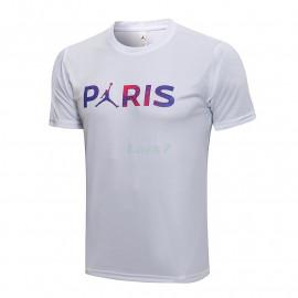 Camiseta de Entrenamiento PSG 2021/2022 Blanco Marca Polícromo