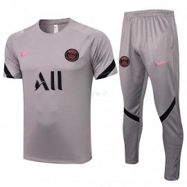 Camiseta de Entrenamiento PSG 2021/2022 Kit Gris Claro