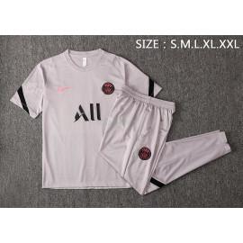 Camiseta de Entrenamiento PSG 2021/2022 Gris Claro
